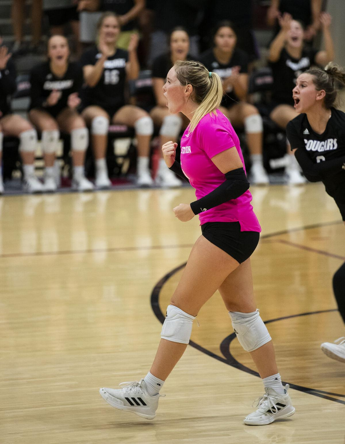 College Station vs. Consol volleyball one