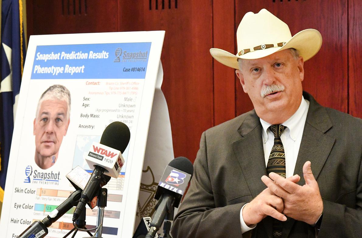 Brazos County Sheriff Chris Kirk