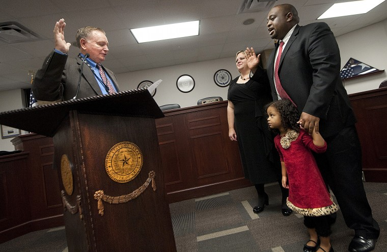 Jarvis Parsons sworn in as Brazos County DA