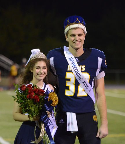 Zoghi, Dawson crowned at Allen Academy homecoming game