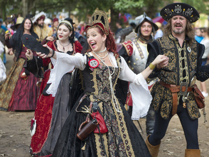 Renaissance Fairs: Texas Renaissance Festival Returns For 43rd Year