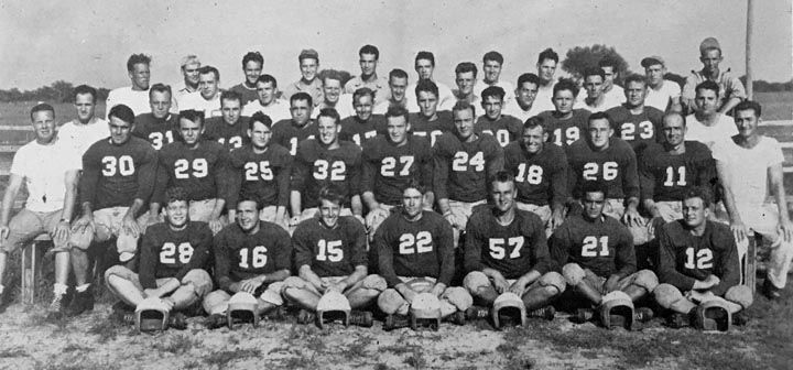 RELLIS Recollections: Bryan Field played wartime football in '43