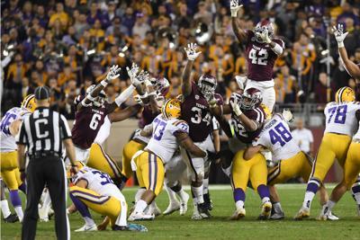Texas A&M vs. LSU football