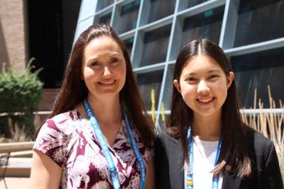 College Station High student wins honorable mention at international science fair