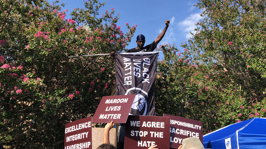 Sul Ross protest
