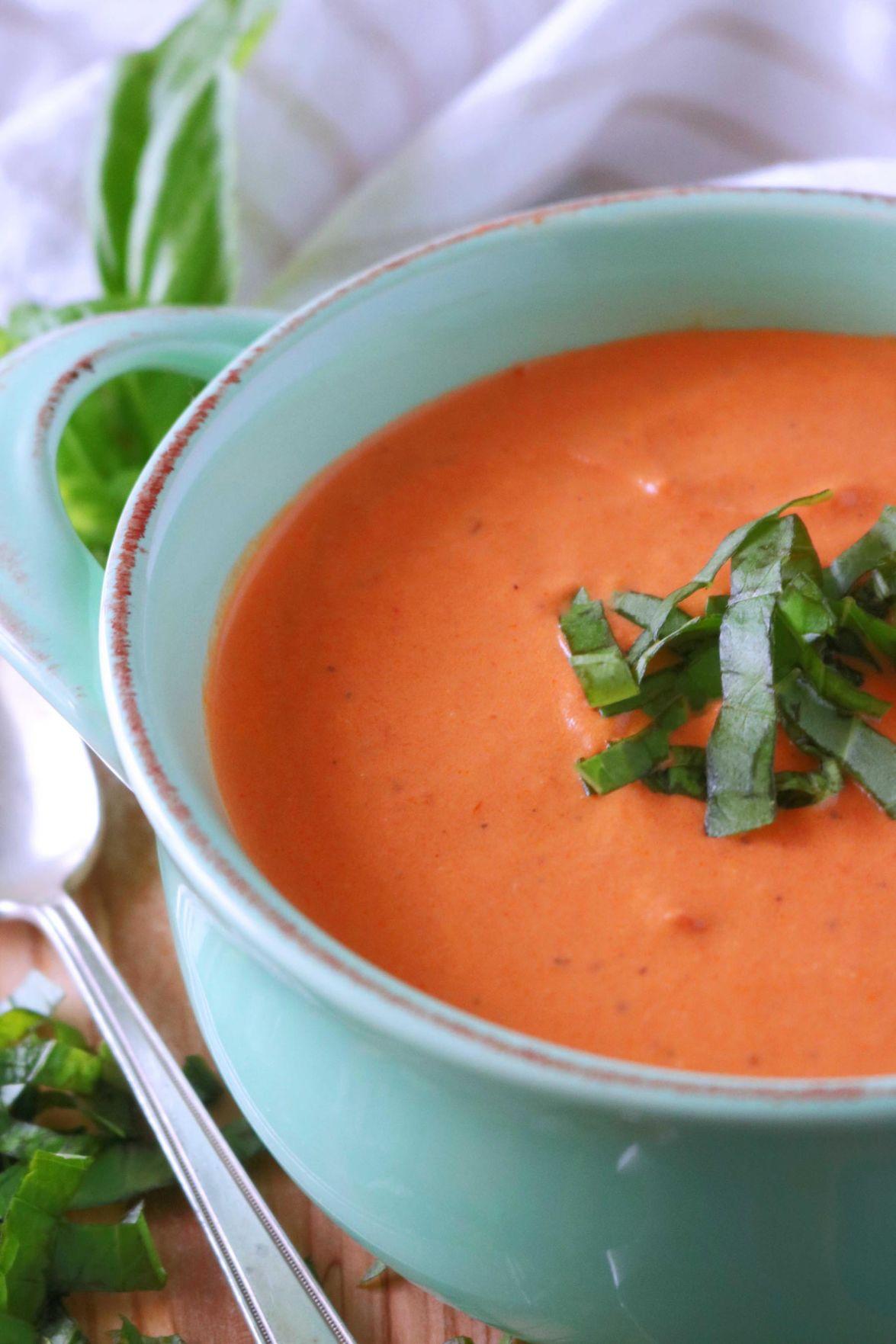 Kelly Anthony: Homemade tomato soup