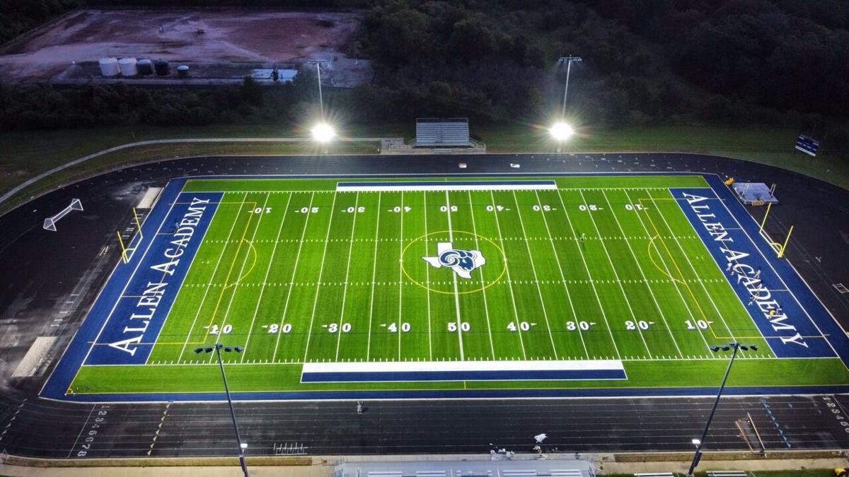 Allen Academy new field