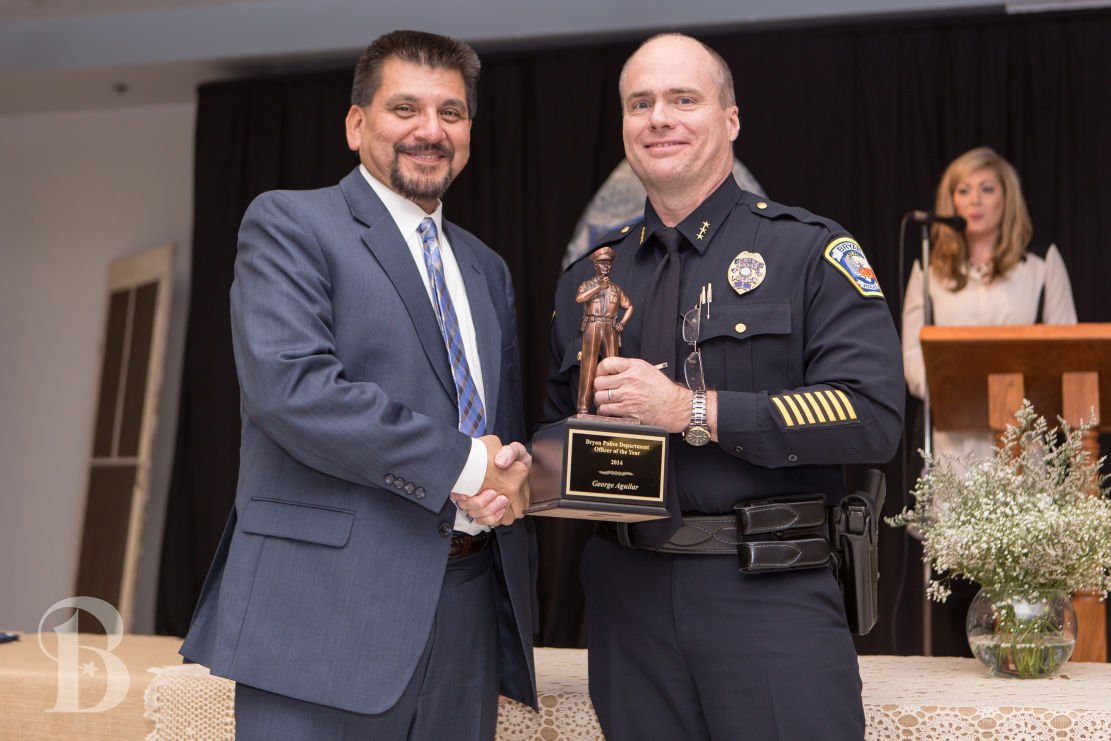 Bryan Police Department Holds Annual Awards Banquet Honoring Officers And Residents Local News Theeagle Com