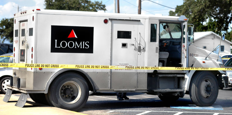Image result for loomis armored truck robbery