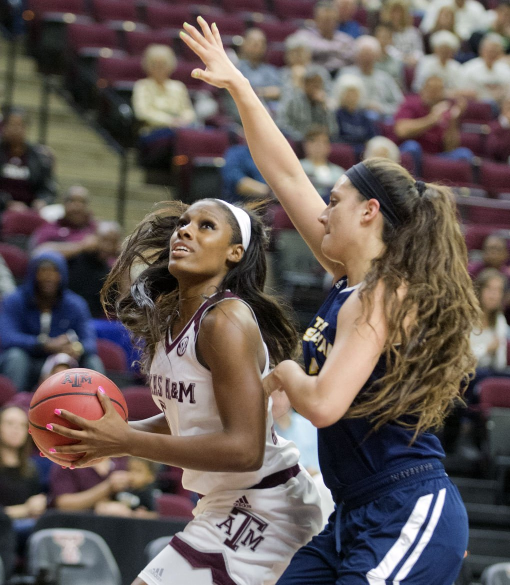 Texas A&M's Howard pulling double duty in film room | Women's Basketball | theeagle.com