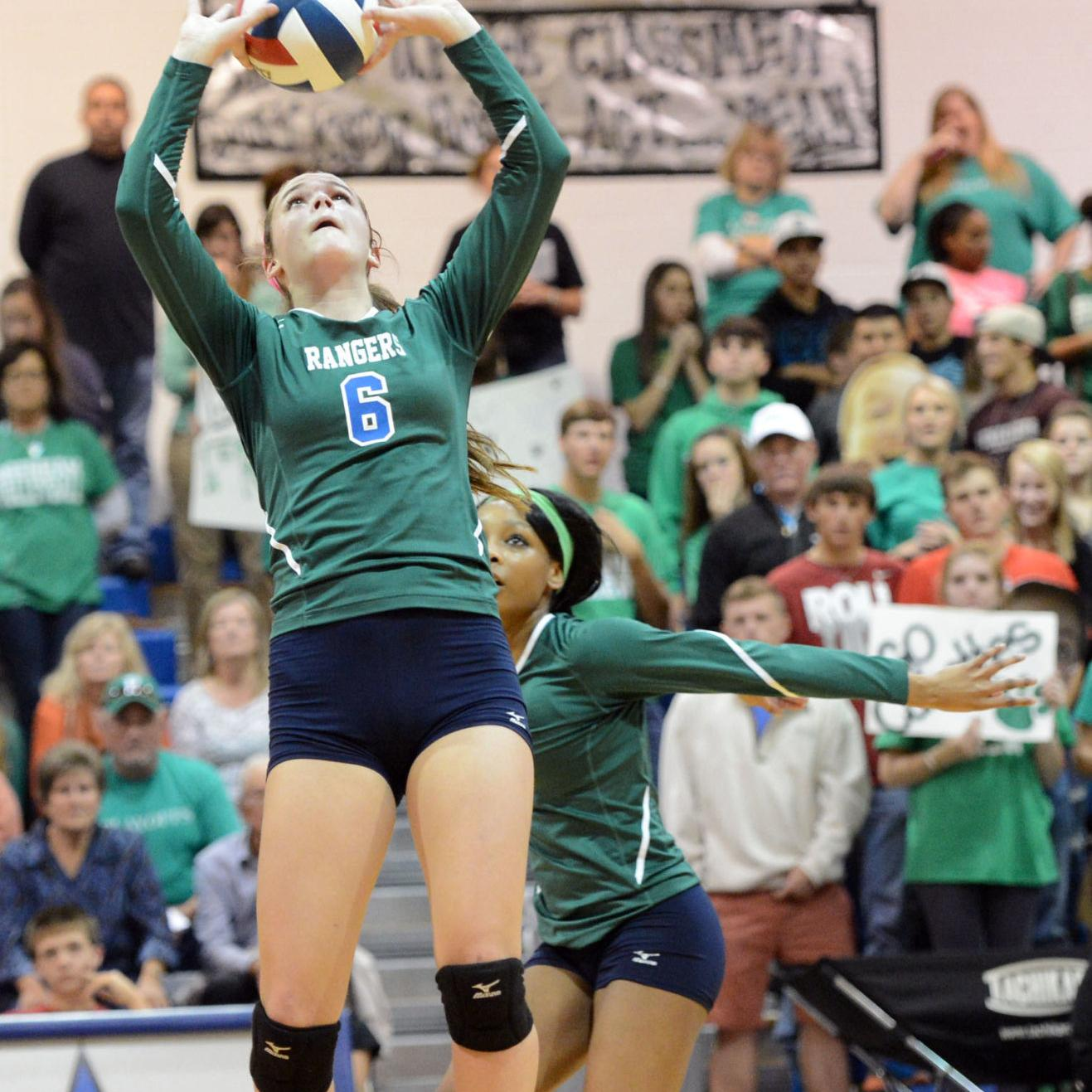 Rudder S Allison Vaughan Named Brazos Valley S High School Volleyball Player Of Decade Sports News Theeagle Com