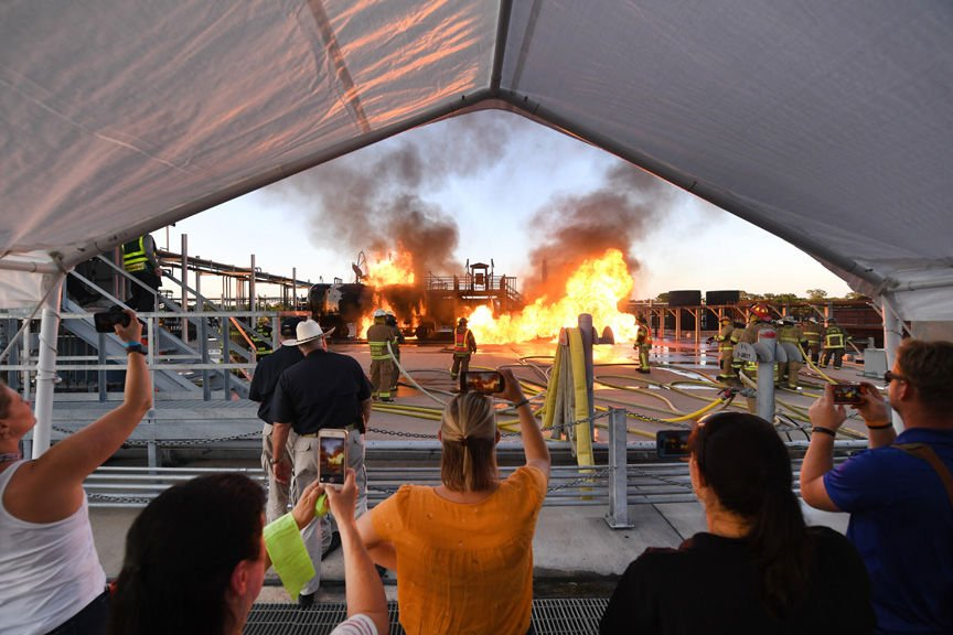 Municipal Fire School Public Demonstration Night