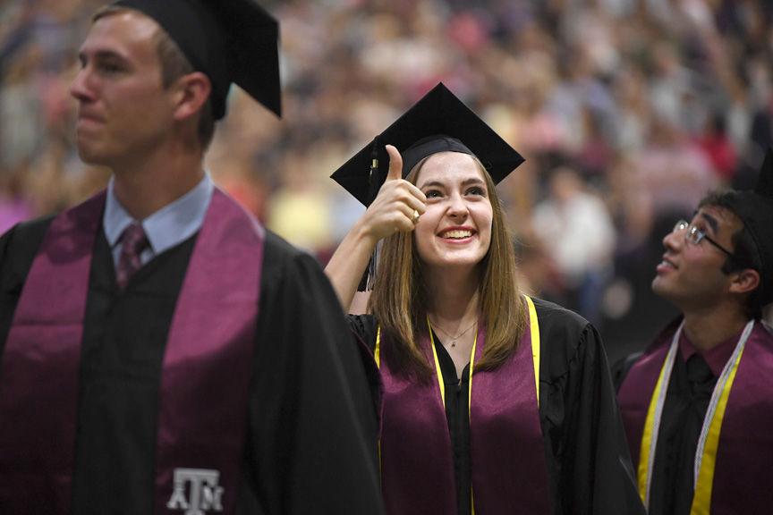 Texas A&M University graduation