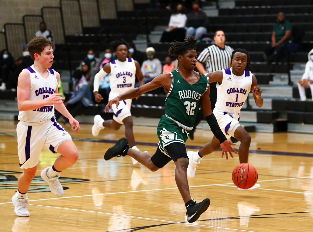 College Station vs. Rudder Boys Basketball
