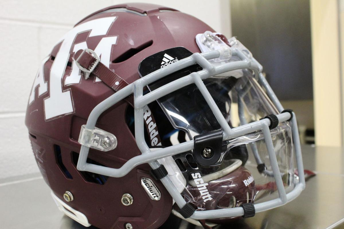 aggie football helmets
