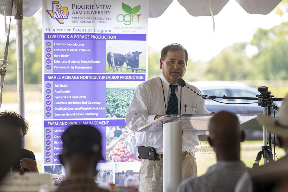 USDA, Prairie View A&M leaders discuss debt relief plan for farmers of color