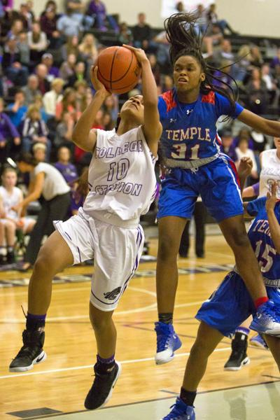 College Station girls basketball team clinches District 18-5A title