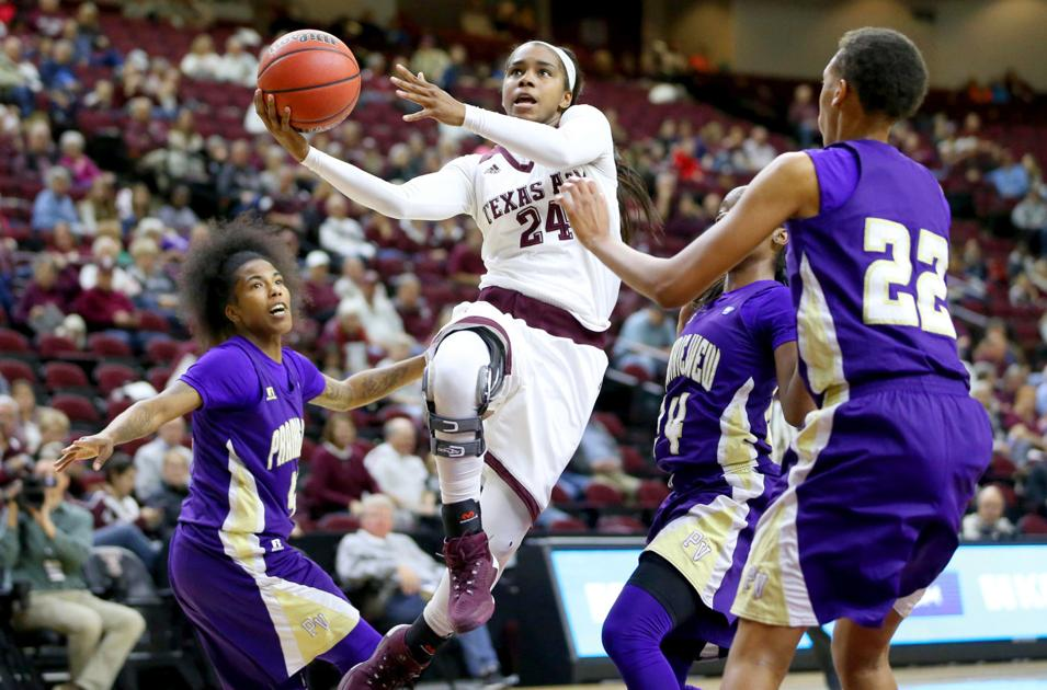 No 13 Texas A Amp M Women S Basketball Team To Face Arkansas