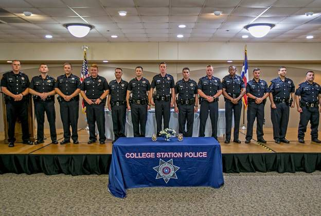 College Station Police Department Welcomes New Officers