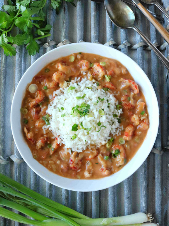 KELLY ANTHONY: Crawfish etouffee