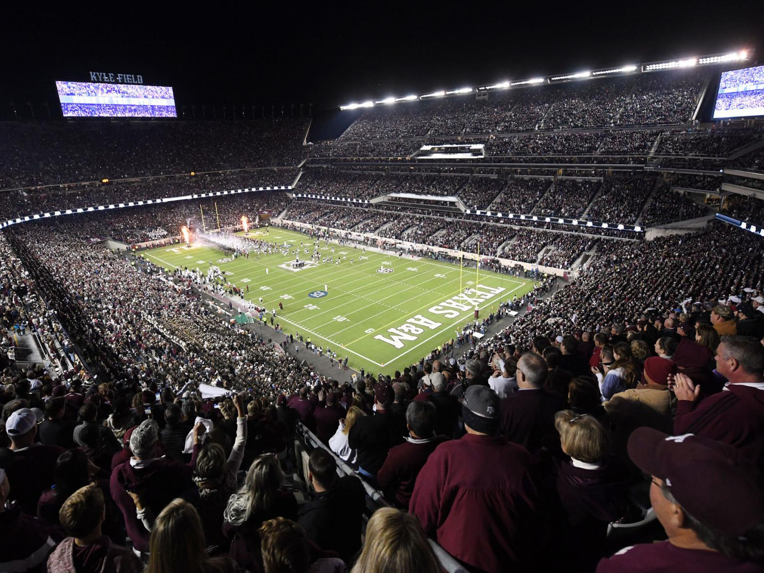 Texas A M To Limit Kyle Field Crowds To 30 Capacity This Season Sports News Theeagle Com