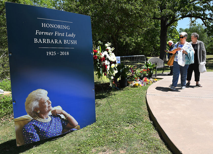 First Lady Barbara Bush S Gravesite Open To Visitors Local News