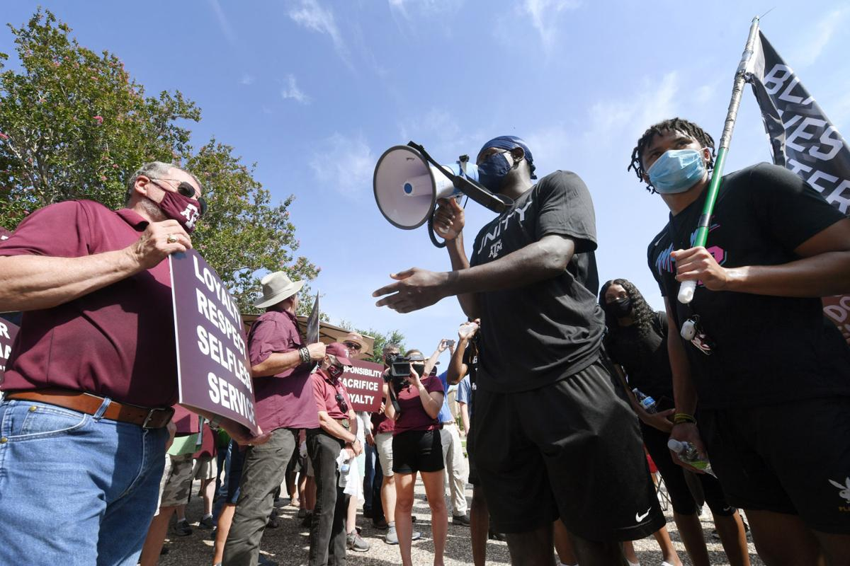 Aggies of Color Coalition Protest