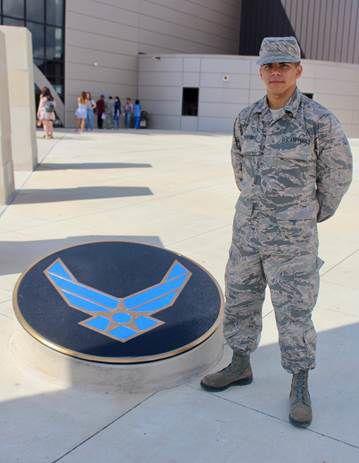Rudder High graduate serving in U.S. Air Force