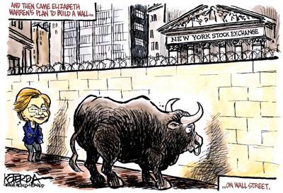 Jeff Koterba cartoon: She has a plan