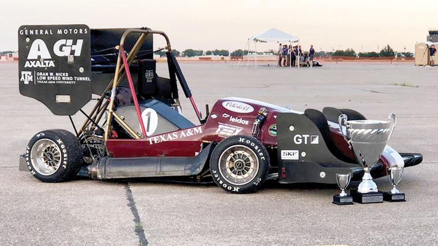 Texas A&M's Formula SAE team takes checkered flag again | Local News | theeagle.com