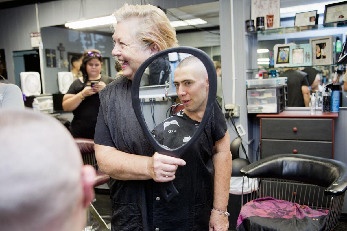 Freshmen Cadets Get Traditional Haircuts Gallery Theeagle