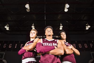 TAMU Men's Basketball Media Day