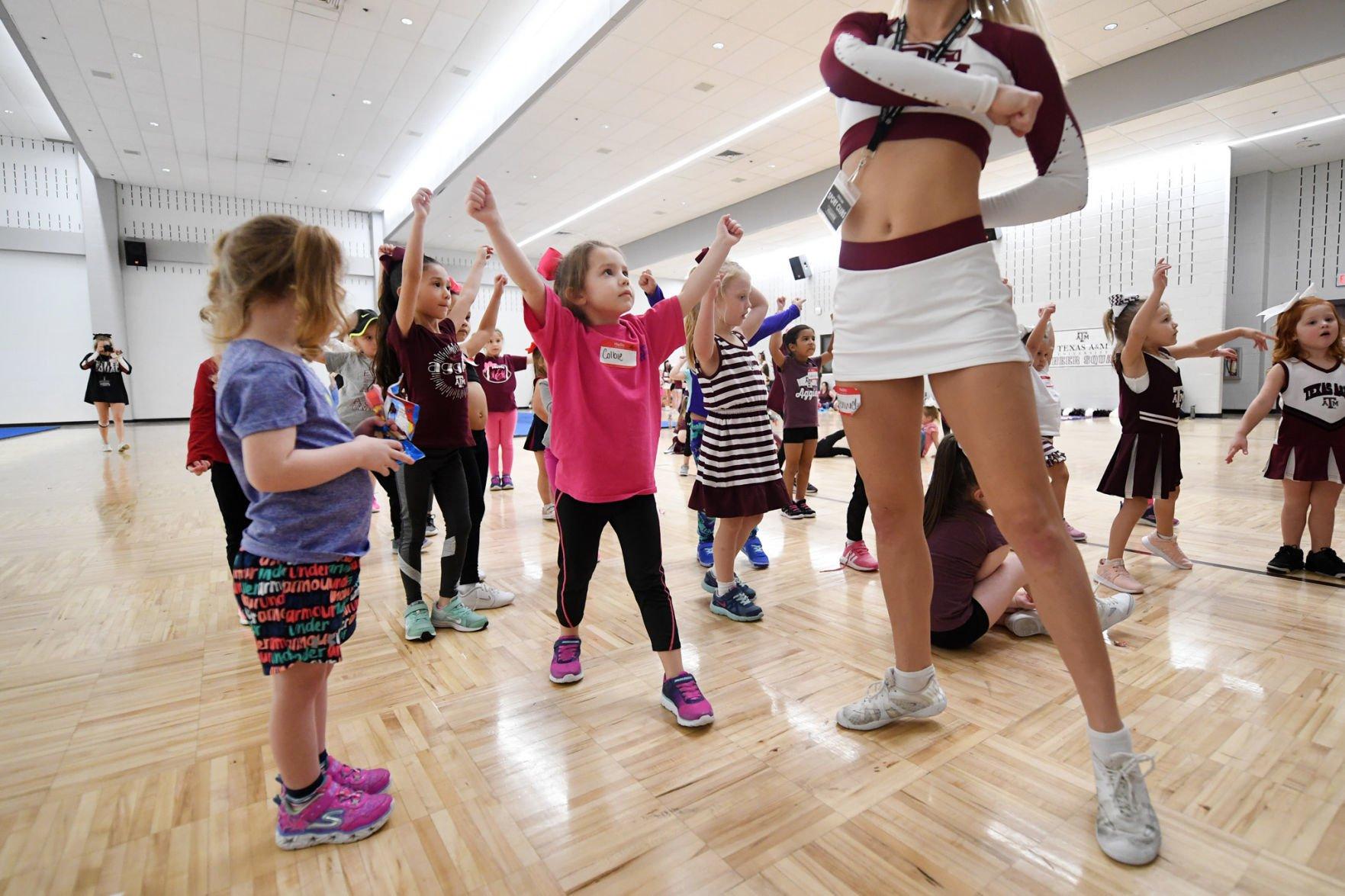 Makenzie Girl Cheer Practice Shorts Youth Running Shorts