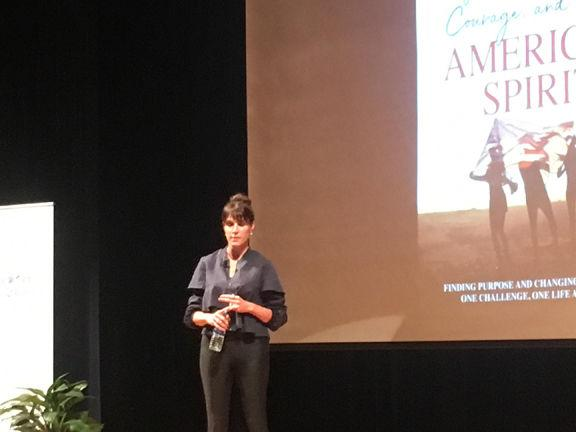 'I've decided not to hate': Taya Kyle speaks at Texas A&M's Annenberg Center