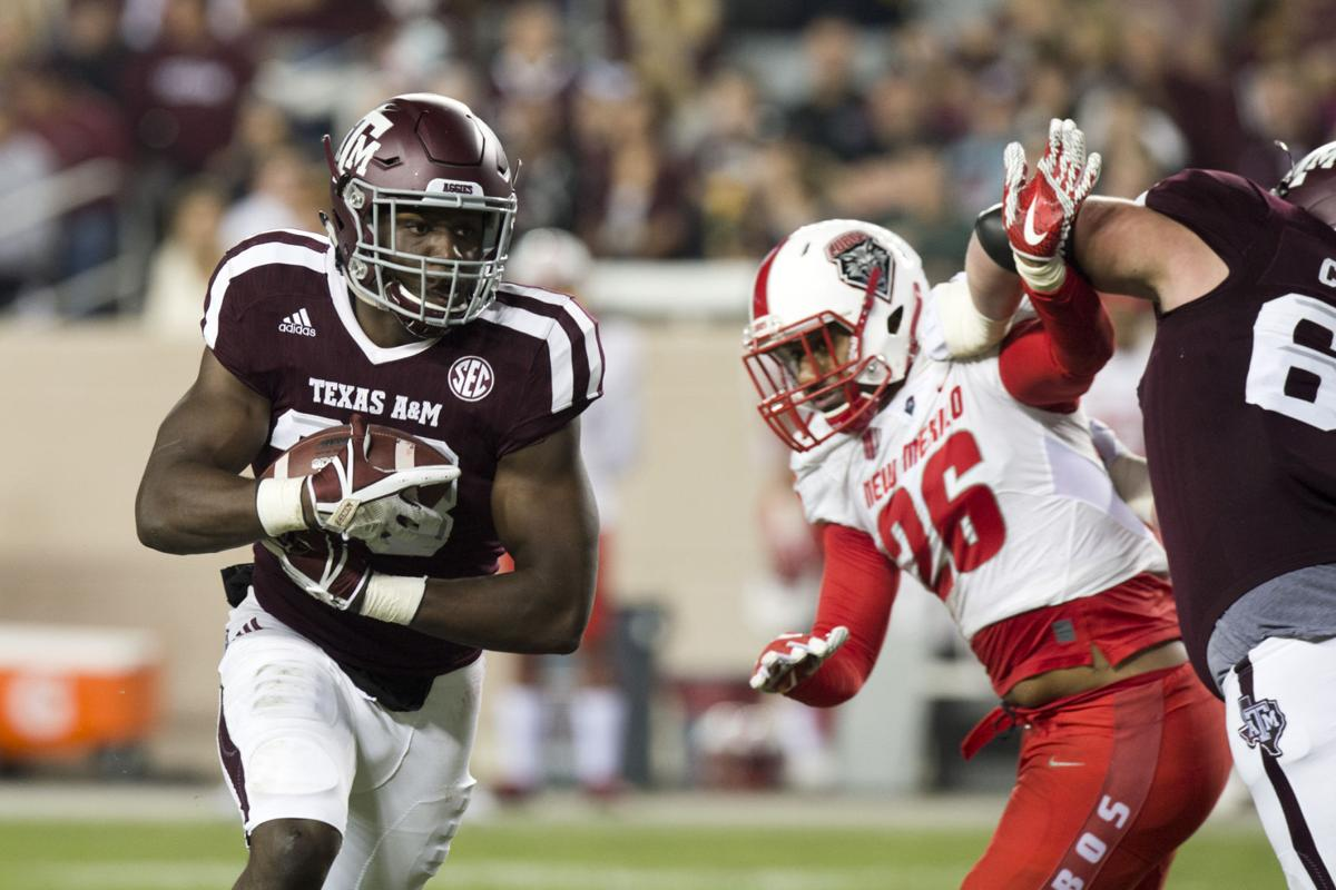 Texas A&M vs. New Mexico football