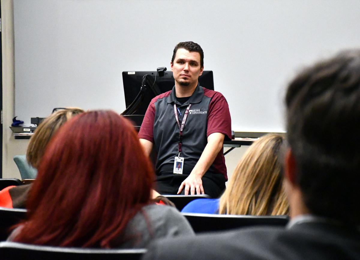 TEA visits Bryan Collegiate High School