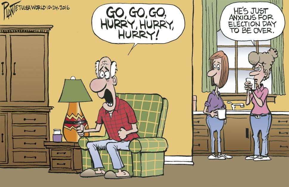 Bruce Plante Cartoon Election Day 2016 Cartoons