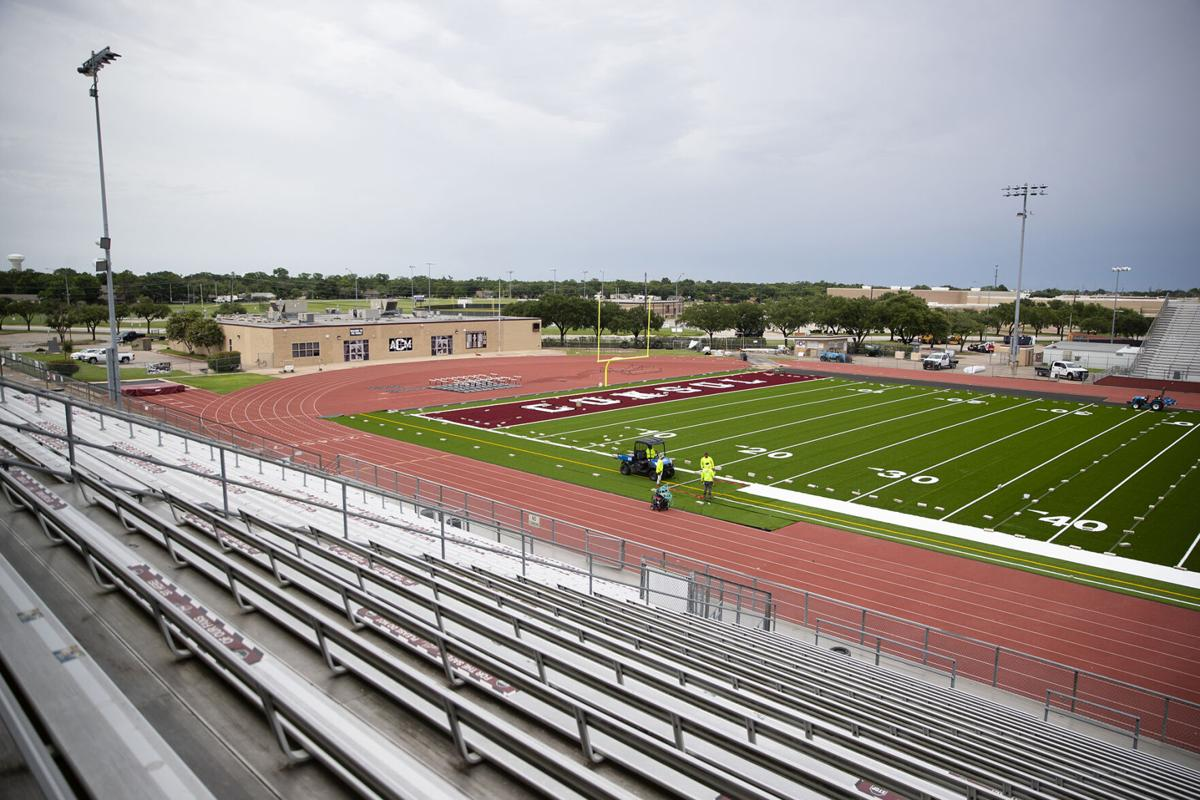 A&M Consolidated new turf