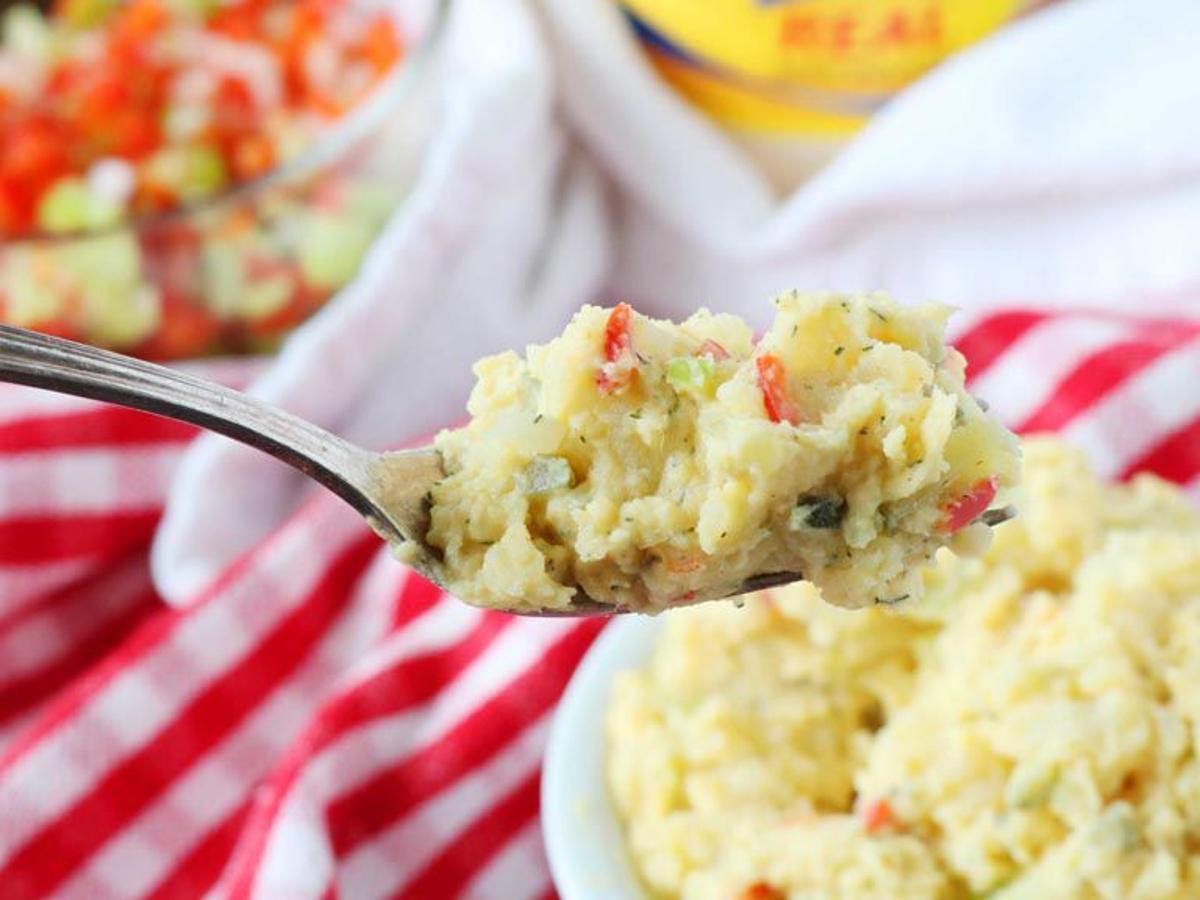 Baker Ribs Dill Potato Salad Recipe