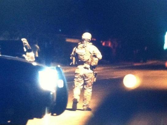College Station SWAT team arrests domestic violence suspect