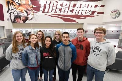 A&M Consolidated swim team