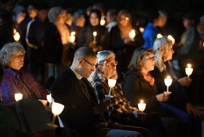 CS church hosts vigil for victims of synagogue shooting