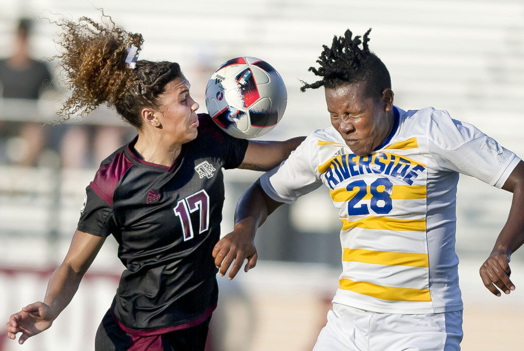 A&M vs UCR Soccer