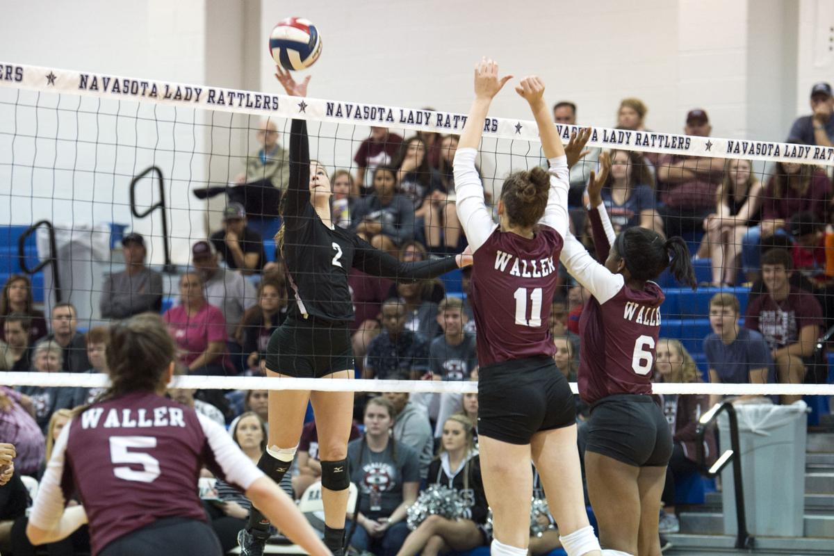 A&M Consolidated vs. Waller volleyball