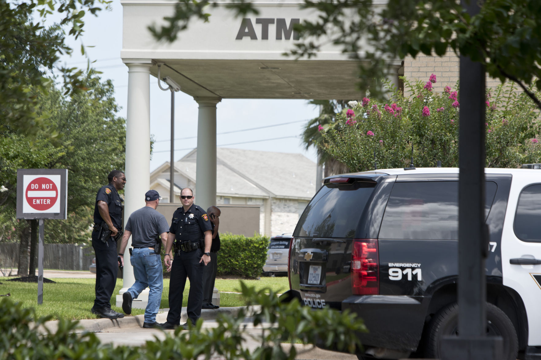 Commerce National Bank Robbery In College Station, Texas