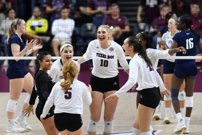 Texas A&M volleyball ready to face Wisconsin in Sweet 16 on Friday