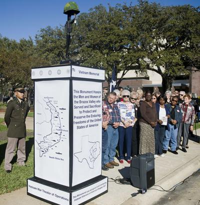 Vietnam veterans securing place of honor in Downtown Bryan