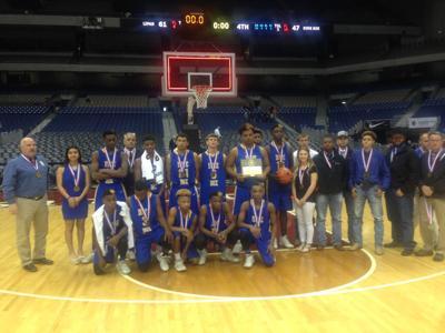 Dime Box boys basketball team loses to No. 1 Lipan at state