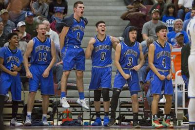 Mustangs outpace the Bluejays