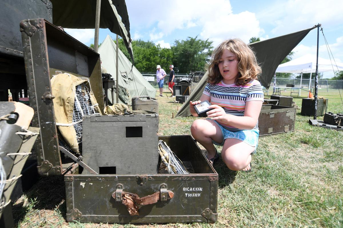 'Remembering D-Day' at Camp Hearne